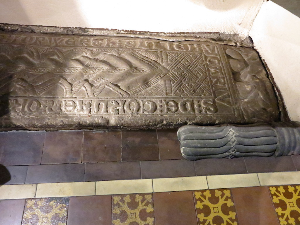 Cambrian monuments welsh tomb carvings